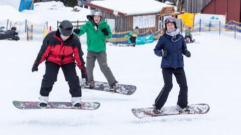 Wintersportprojektwoche des 9. Jahrgangs