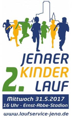 2. Jenaer Kinderlauf 2017_Logo mit Termin von JKL