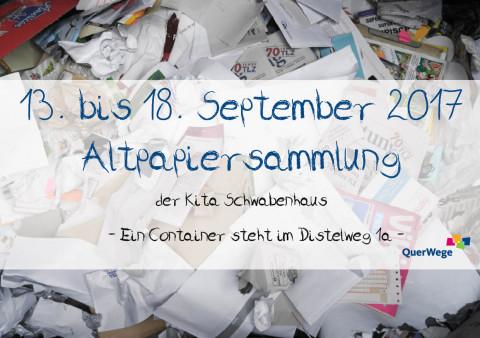 Schwabenhaus_Altpapiersammlung_September_2017