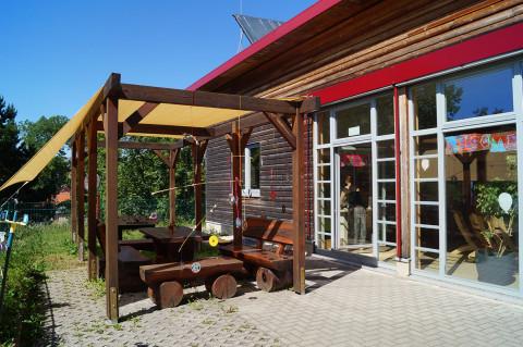 Kita BiLLY von außen: Restaurantbereich