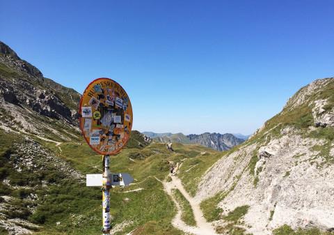 Projekt Herausforderung 2015: Eine Wanderung über die Alpen nach Bozen.