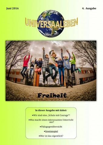 Cover Schülerzeitung Juni 2016