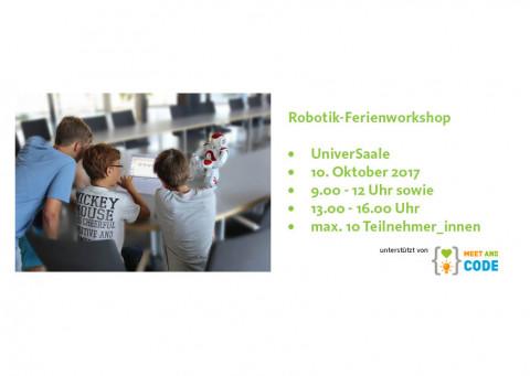 UniverSaale_Ferienworkshop Robotik