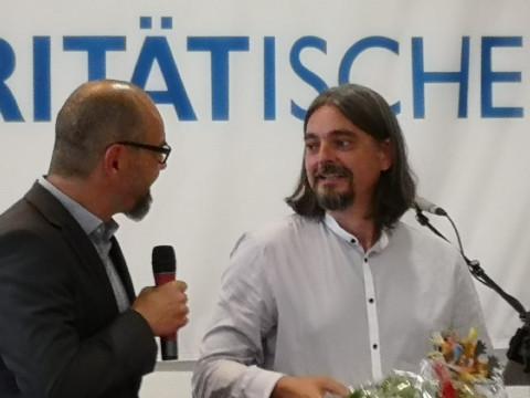 Preisverleihung_Paritätischer Ehrenamtspreis für Dr. Holger Gerlach