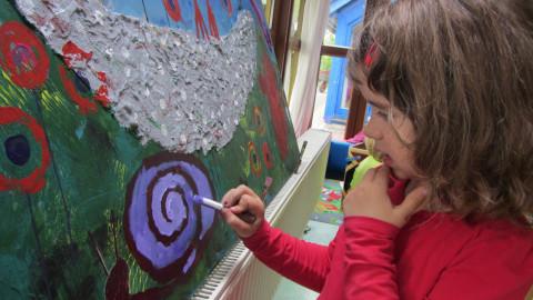 Schwabenhaus- verträumte Malerin