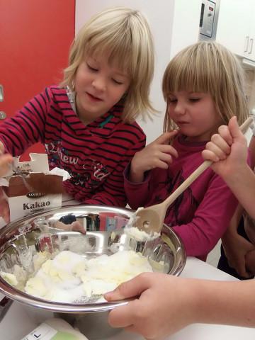 Hauswirtschaft gehört zu den Unterrichtsfächern an der SteinMalEins Grundschule