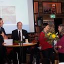 Inklusionspreisverleihung_ 04_12_Bad Köstritz_Gratulation der  Ministerin für Arbeit, Soziales, Gesundheit Frauen und Familie Heike Werner