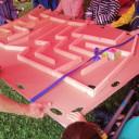 unser Geburtstagsgeschenk das Balllabyrinth