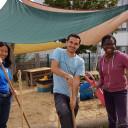 Freiwilligentag 2017 in der Kita Pi mal Daumen