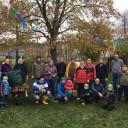 Garteneinsatz in der Kita Schwabenhaus November 2019