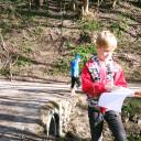 Waldprojekttage in Lobeda_Turboschnecken auf Rallye im Wald