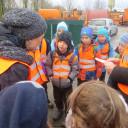 SteinMalEins_Tigeraugen_Projekt Gib Abfall einen Korb_ Besuch bei der Stadtwirtschaft