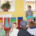 Wackelzahn_Kunstwoche unserer drei QuerWege-Kita's_Gruppe der Malerei_die Künstler beraten_05_18
