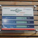 Display Photovoltaikanlage