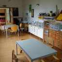 Unser Atelier zum Basteln und Werken
