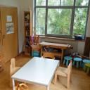 Unser Atelier mit Werkbank