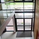 Eingangsbereich des Schulgebäudes.