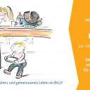 Kita BiLLY Einladung zur Infoveranstaltung, Zeichnung: Benjamin Small