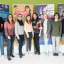 Gruppenbild zur Eröffnung der Wanderausstellung zur seelischen Gesundheit