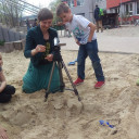 SteinMalEins_Trickfilm AG mit Frau Gröper