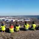 Schwabenhaus_Warnwesten für unsere Waldgruppe