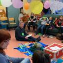 """Projektwoche """"Hospiz macht Schule"""" in der SteinMalEins in Lobeda"""