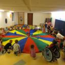 Schwabenhaus_ Kindertag_2018_ schwungvolle Einstimmung