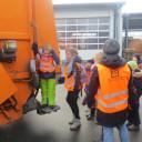 SteinMalEins_Tigeraugen_Projekt Gib Abfall einen Korb_ ein Kindertraum...stehen auf dem Müllauto