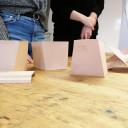 Präsentation des Bauhaus-Kunstkurses an der UniverSaale