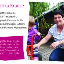 Mitarbeiterin der Physiotherapie Marika Krause