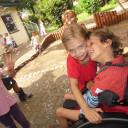 Schwabenhaus_ Kindertag_2018_ mal kräftig herzen