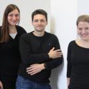 Musikvermittlerteam v. links Anna Weber, Jonas Brodbeck, Christine Nitsche_Hochschule der Künste Bremen