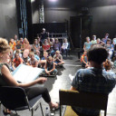 """SteinMalEins Paradies_Theaterprojekt unter den Motto """"Streiten - aber richtig"""""""