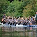 Drachenboot-Sprint_Querschläger am Start_Foto_Jenny Hölbing der IH