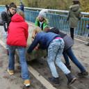 """Saaleputz 2019 während der Projektwoche """"Tierschutz"""" der SG III"""