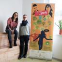 Sandra Grimmer und Jessica Schoder-Liebig die gemeinsam die Projekttage zur seelischen Gesundheit durchgeführt haben.