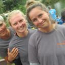 Drachenboot-Sprint_Birgit Muncke, Beatrice Muncke-Martin und Julia Gottfried (vl) - alles Schulbegleiterinnen_Foto_Jenny Hölbing der IH