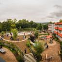 Unser Schulhof im Paradies zum Schuljahresstart 2017/18.