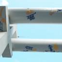 Adern von Jena: Die fertigen Drucke an den Fernwärmerohren