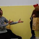 SteinMalEins_Adventsnachmittag_Improtheater- Der gestiefelte Kater_ gespielt von den Eltern