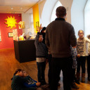 SteinMalEins_Fragen über Fragen in der Niki de Saint Phalle Ausstellung_2018