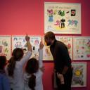 SteinMalEins_In der Ausstellung Niki de Saint Phalle und das Theater_2018