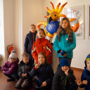 SteinMalEins_Unser Phönix und wir Tigeraugen im Stadtmuseum Jena