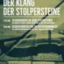 Plakat Klang der Stolpersteine 2020