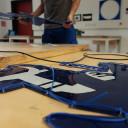 Adern von Jena: Vorbereitung der Platten