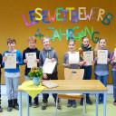 Vorlesewettbewerb der Grundschule 2018: Die Teilnehmer_innen des 4. Jahrgangs