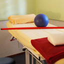Therapieraum in der Physiotherapie