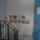 Treppenhaus im Eingangsbereich.