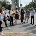 Adern von Jena: Die Beteiligten bei der Vernissage am 21.6.2019
