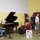 Vollversammlung_ Schülerbeiträge auf hohem Niveau L.W. mit einem Lied von Amy Winehouse